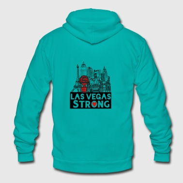 Las Vegas Strong - Unisex Fleece Zip Hoodie