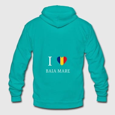 Love Romania BAIA MARE - Unisex Fleece Zip Hoodie