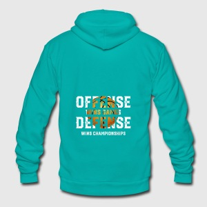 Funny Basketball Shirts - Basketball Tee T Shirts - Unisex Fleece Zip Hoodie by American Apparel