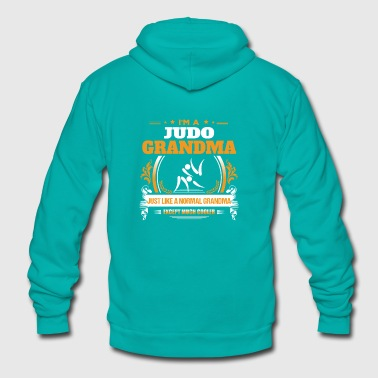 Judo Grandma Shirt Gift Idea - Unisex Fleece Zip Hoodie
