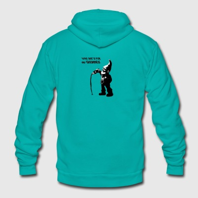 This One's For My Gnomies - Unisex Fleece Zip Hoodie by American Apparel