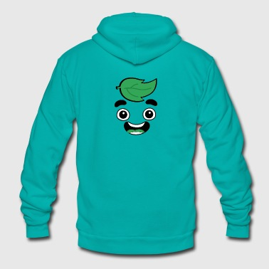 Guava Juice Green Edition T-Shirt - Unisex Fleece Zip Hoodie by American Apparel
