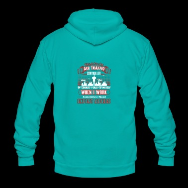 AIR TRAFFIC CONTROLLER SHIRT - Unisex Fleece Zip Hoodie
