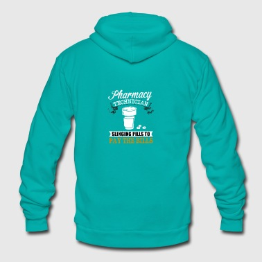 PHARMACY TEH - Unisex Fleece Zip Hoodie