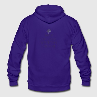 Religion / Morals - by Fanitsa Petrou - Unisex Fleece Zip Hoodie