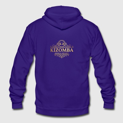 sensual_kizomba - Unisex Fleece Zip Hoodie by American Apparel