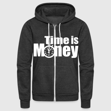 Money, - Unisex Fleece Zip Hoodie