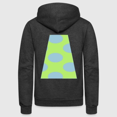 angle with spots - Unisex Fleece Zip Hoodie