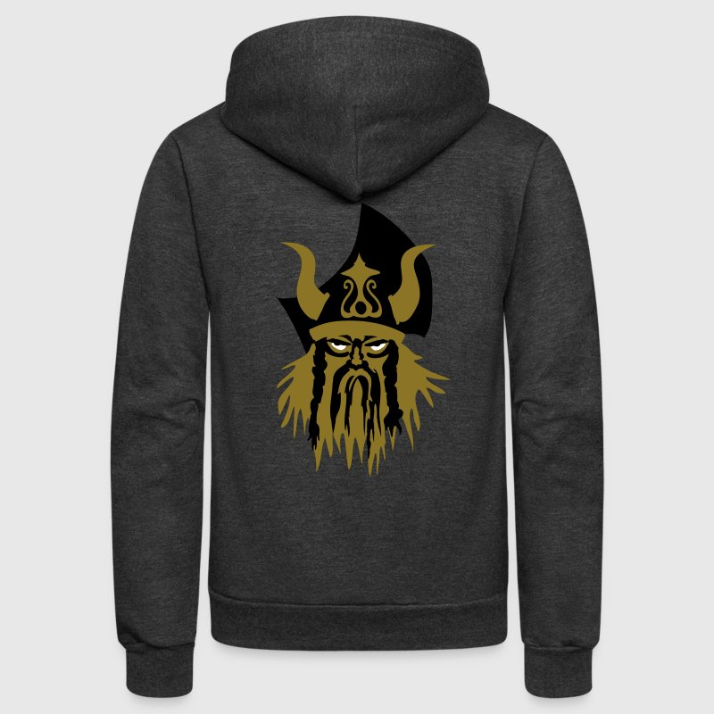 viking warrior by Patjila2 - Unisex Fleece Zip Hoodie