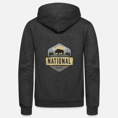 National Park National Park - Unisex Fleece Zip Hoodie