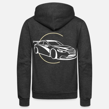 Renner Car,Renner,Sportscar,Vehicle,V8 ✔ - Unisex Fleece Zip Hoodie