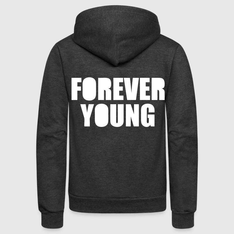 Forever Young - stayflyclothing.com - Unisex Fleece Zip Hoodie