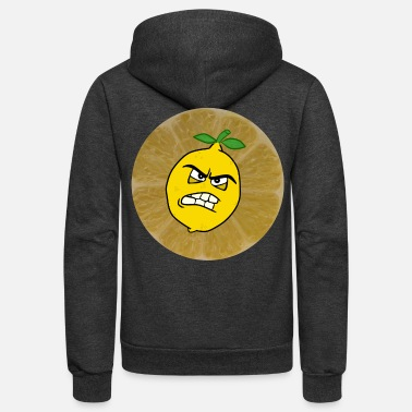 Sour sour lemon - Unisex Fleece Zip Hoodie