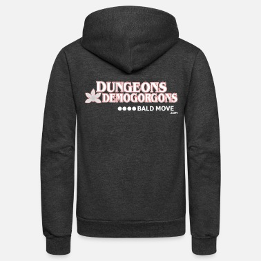 Move Dungeons and Demogorgons - Unisex Fleece Zip Hoodie