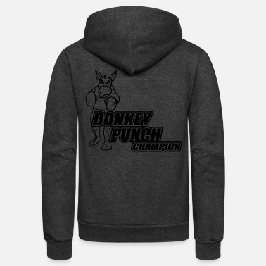 Punch Donkey Punch Champion - Unisex Fleece Zip Hoodie