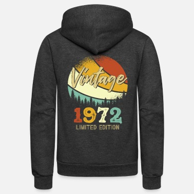1972 Vintage 1972 Limited - Unisex Fleece Zip Hoodie