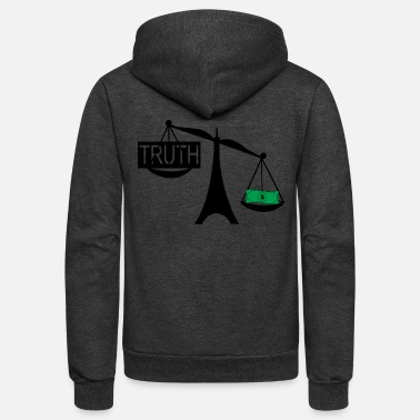 Truth the truth - Unisex Fleece Zip Hoodie