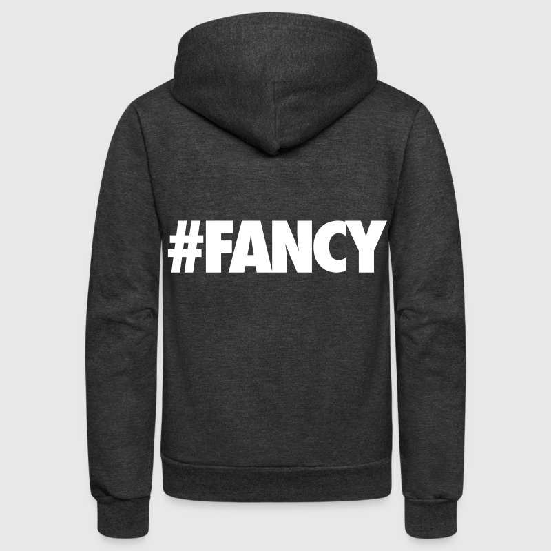 #FANCY - Unisex Fleece Zip Hoodie