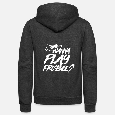 Frisbees Frisbee - Unisex Fleece Zip Hoodie