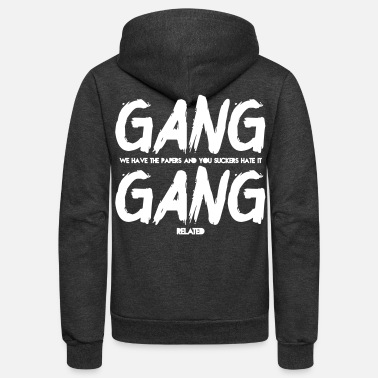 GANG RELATED - Unisex Fleece Zip Hoodie