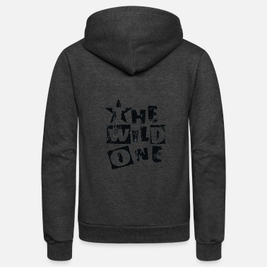 Wild One The Wild One - Unisex Fleece Zip Hoodie