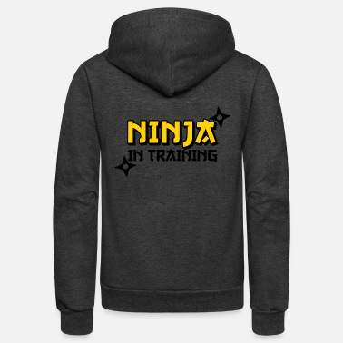 Training NINJA IN TRAINING - Unisex Fleece Zip Hoodie