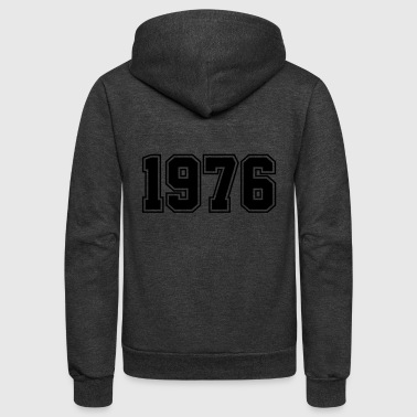 1976 | Year of Birth | Birth Year | Birthday - Unisex Fleece Zip Hoodie