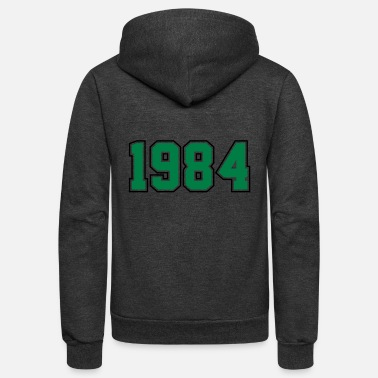 Year Of Birth 1984 | Year of Birth | Birth Year | Birthday - Unisex Fleece Zip Hoodie