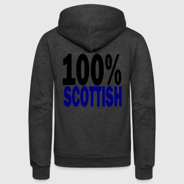 scottish - Unisex Fleece Zip Hoodie