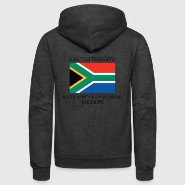 South Africa Johannesburg LDS Mission Called to - Unisex Fleece Zip Hoodie