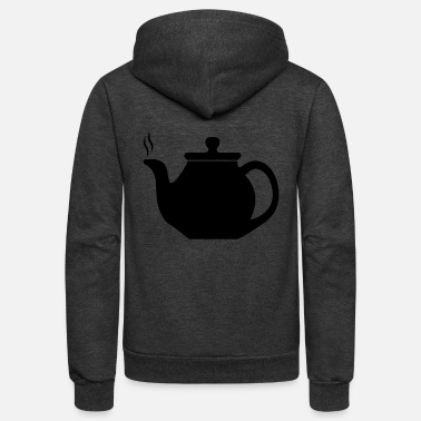 Tea tea - Unisex Fleece Zip Hoodie