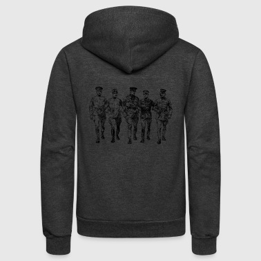 Ww1 soldiers - Unisex Fleece Zip Hoodie