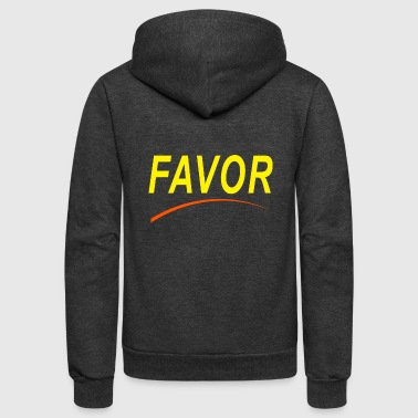 favor 08 - Unisex Fleece Zip Hoodie