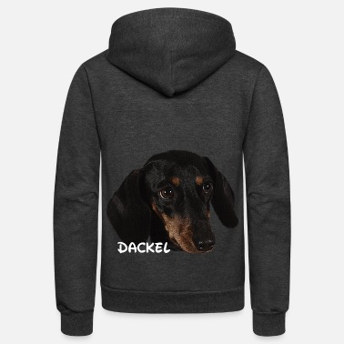 Dog Head Dog,dog head,dog face,dog breed,doge,dog lover,dog - Unisex Fleece Zip Hoodie