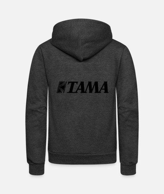 Official (person) Hoodies & Sweatshirts - Tama Official Logo - Unisex Fleece Zip Hoodie charcoal gray