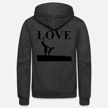 Streaker Love - Unisex Fleece Zip Hoodie