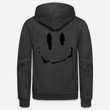 acid smiley - Unisex Fleece Zip Hoodie