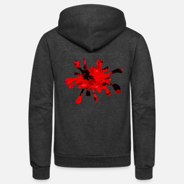 Color Splash Color Splash - Unisex Fleece Zip Hoodie