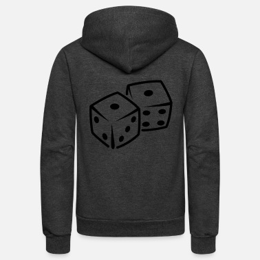 Dice Dices - Unisex Fleece Zip Hoodie