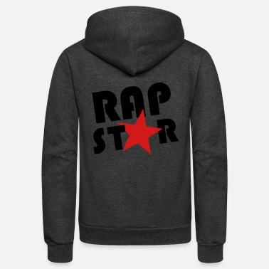 Rap Star rap star - Unisex Fleece Zip Hoodie