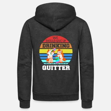 Geographic Drinking Buddies Drink Beer Wine Tshirt Gift - Unisex Fleece Zip Hoodie