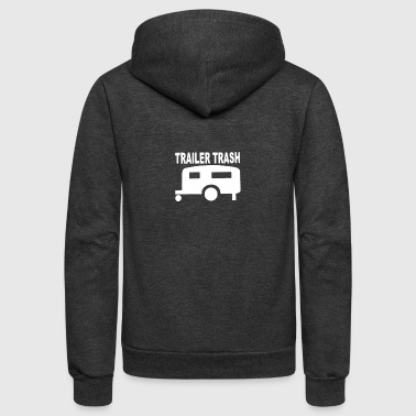 TRailer trash - Unisex Fleece Zip Hoodie