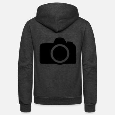 Camera camera - Unisex Fleece Zip Hoodie