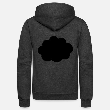 Cloud This is a Cloud - Unisex Fleece Zip Hoodie