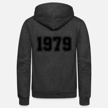 Year Of Birth 1979 | Year of Birth | Birth Year | Birthday - Unisex Fleece Zip Hoodie