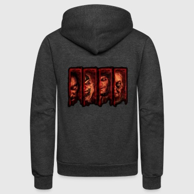 halloween horror - Unisex Fleece Zip Hoodie