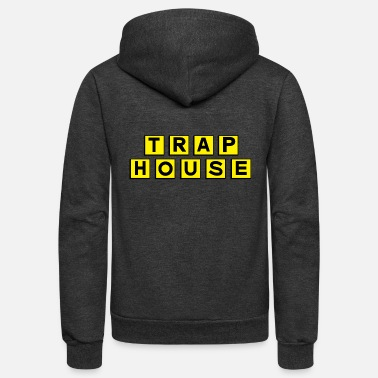 House Trap House - Unisex Fleece Zip Hoodie