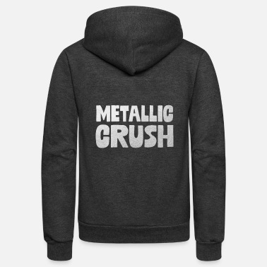 Metal Gir Metallic Crush - Unisex Fleece Zip Hoodie