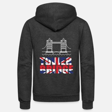 Tower Bridge Tower Bridge England - Unisex Fleece Zip Hoodie