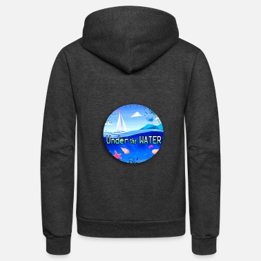Under Water Under the water - Unisex Fleece Zip Hoodie